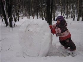 Вот сейчас кааак слеплю снеговика!