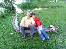 Папа с мамой