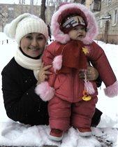 Дашенька с мамой