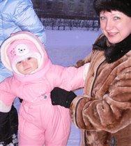 Мы с бабушкой на прогулке