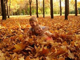 Золотая осень - золотые детки!