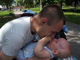 Папа и сынуля