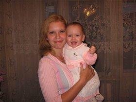 С любимой мамочкой