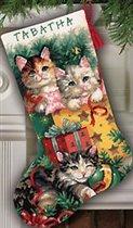 9137 Christmas Kittens