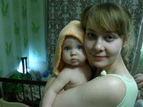 Обнимашки после купашки!)))