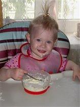 манная каша на завтрак - секрет здоровья и счастливой улыбки :)