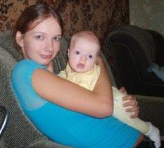 мама Аня с Дианочкой