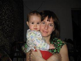 Мама Катя с дочкой Катюшей
