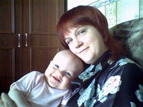 Никита и мама Таня
