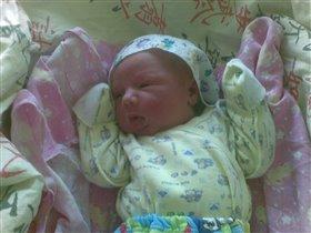 спустя несколько часов после рождения :-)))
