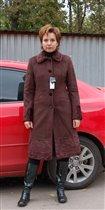 пальто утепленное новое с отделкой