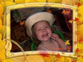 Чудо в шляпе -  на радость папе!