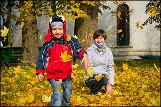 Метание листьев на ветер)