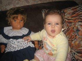 я и моя  кукла