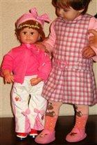 Папа подарил мне куклу!