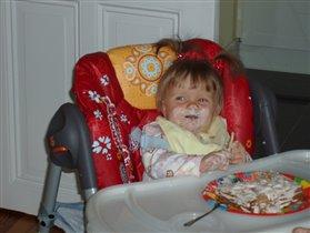 Первый тортик на первый день рождения