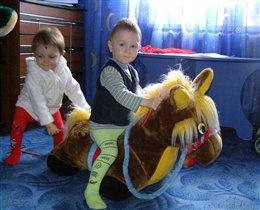 Неси меня мой конь, в путь за приключениями!!!