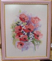 Watercolour Poppies, Derwentwaters
