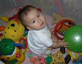 любимые игрушки моего сынули :)))