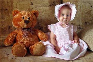 Катя и медведь