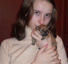 Я со своим щеночком