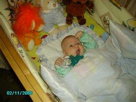 'наконец-то попробую мою любимую игрушку, пока мама не видит :-))))'