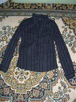 блузка черная остин