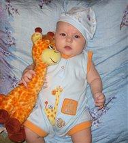 Любимые жирафики: - Может шея длинновата, а мне нравится ребята