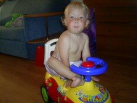 моя первая машина...