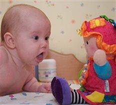 Моя первая и любимая кукла Глаша