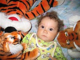 Маленький тигрёнок