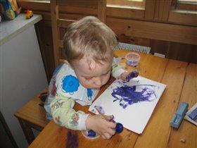В игрушке я люблю играть, но больше всего я люблю рисовать!