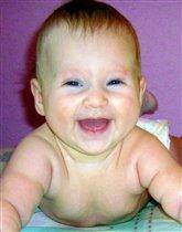Улыбка младенца