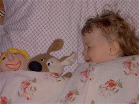 - Дочка, кто спать будет рядом с тобой? «Я ягу с абакой и бутябой!»