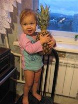 купил папа ананас