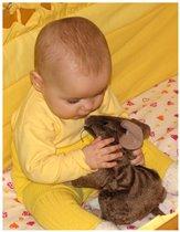 Доченька Вита и её ручная крыса :)))