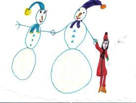 Снеговики Умка и Умочка