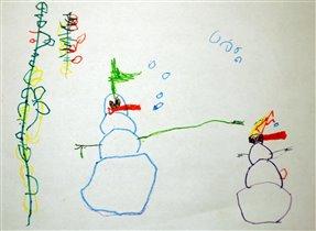 Снегопух и Пухоснежка