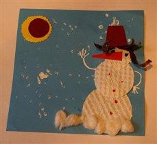 Снеговик Шоколадик.