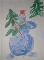 Снеговичок-лесовичок.