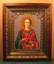 Св. Великомученик Целитель Пантелеимон (бисер)