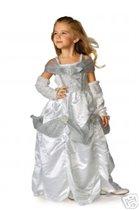 костюм снежной принцессы (новый) 3-4 года  - 1000 руб