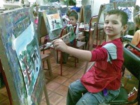 юный Пикассо