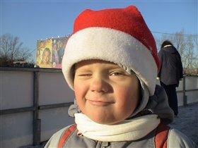 дед мороз в юности :)