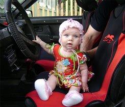 женщина за рулем!!!!