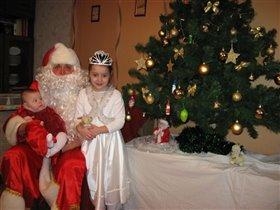 Дед Мороз и мои принцессы
