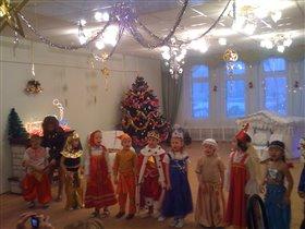 спектакль про Царя Гороха :)