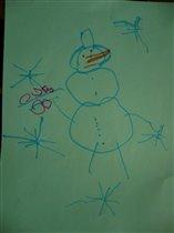 Это рисунок моего сыночка.