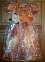 Шикарное платье для девочки  р.98-104