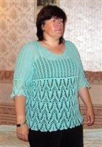 Пуловер по мотивам японской туники 3